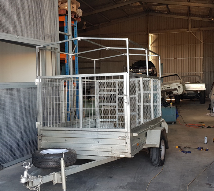 Trailer Covers Canvas And Pvc Supplier In Perth Kanvas